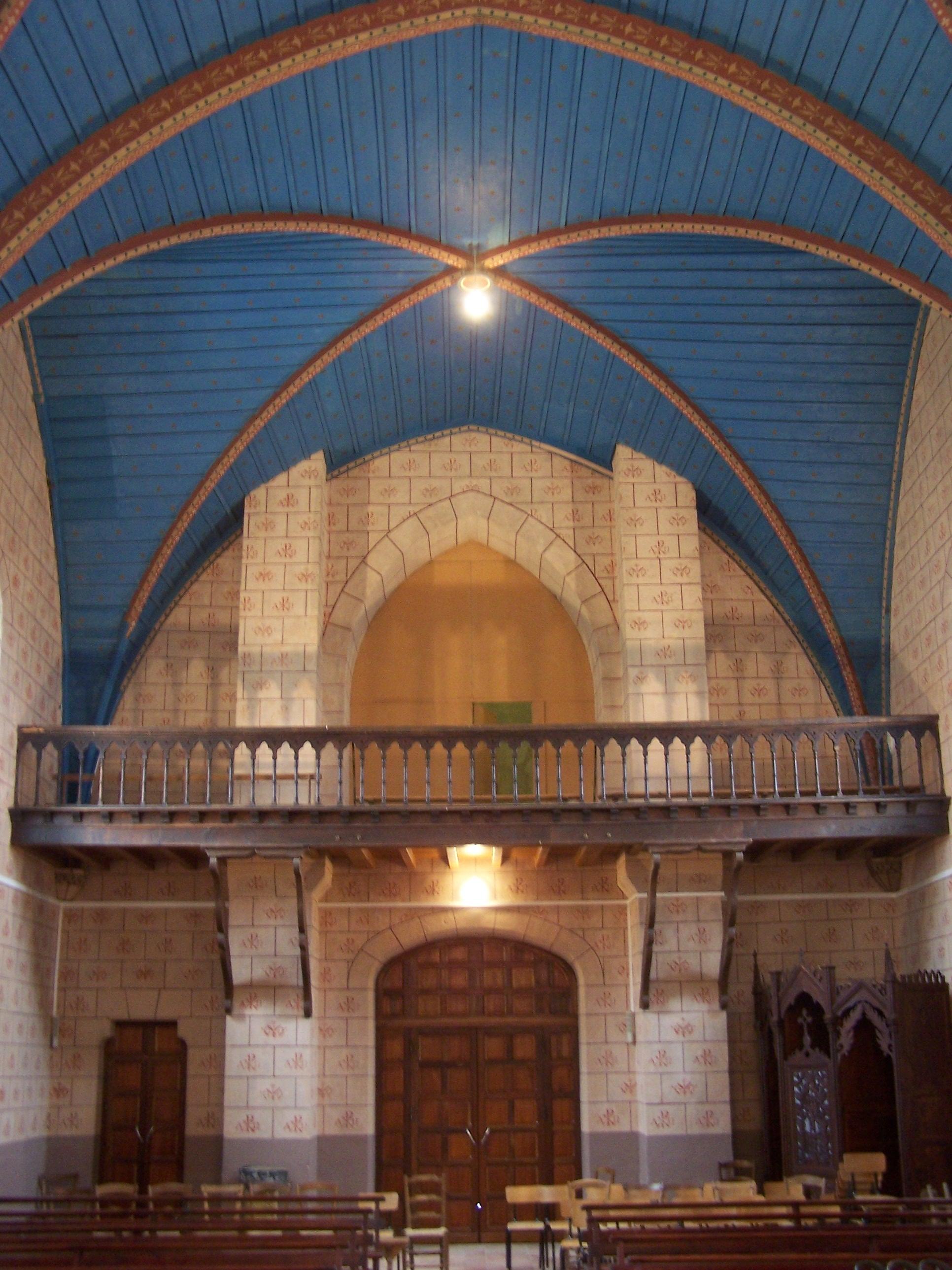 Antin - Intérieur église