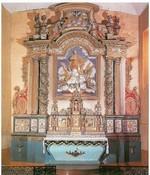 Retable de l'Eglise de Mazerolles