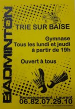 Badminton Club Triais