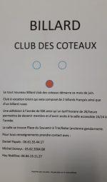 Billard Club des Coteaux