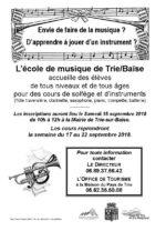 Société Philharmonique et Ecole de Musique